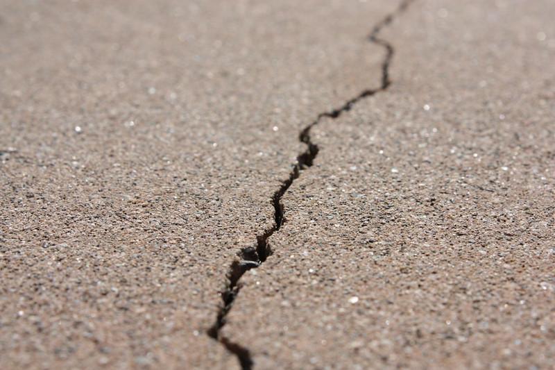 Cracked Cement