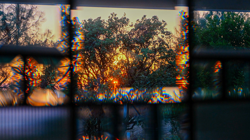 Refracted Sunset