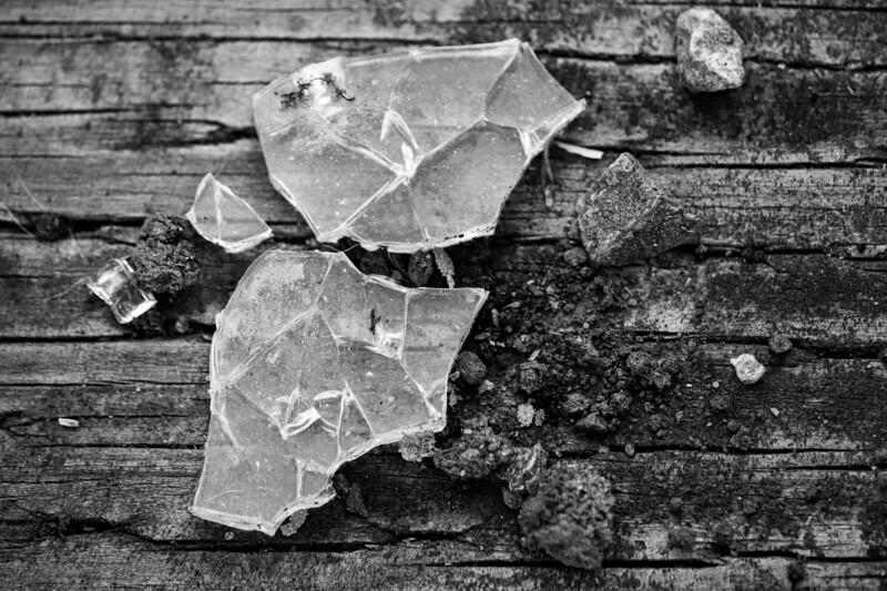 Looks to me like alotta broken glass