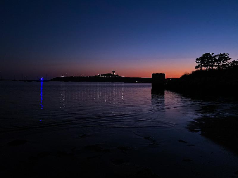 Half-moon Bay