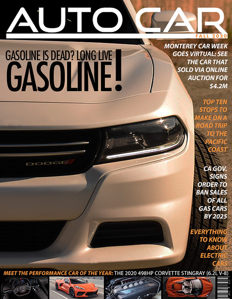 Dodge Charger Magazine Cover