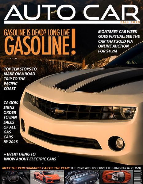 Chevy Camaro Magazine Cover