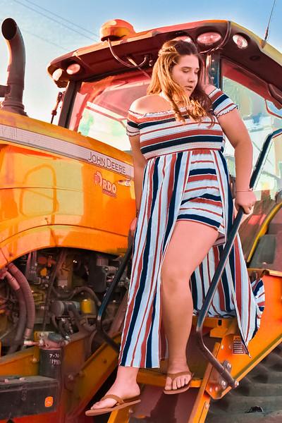 Big Orange Tractor