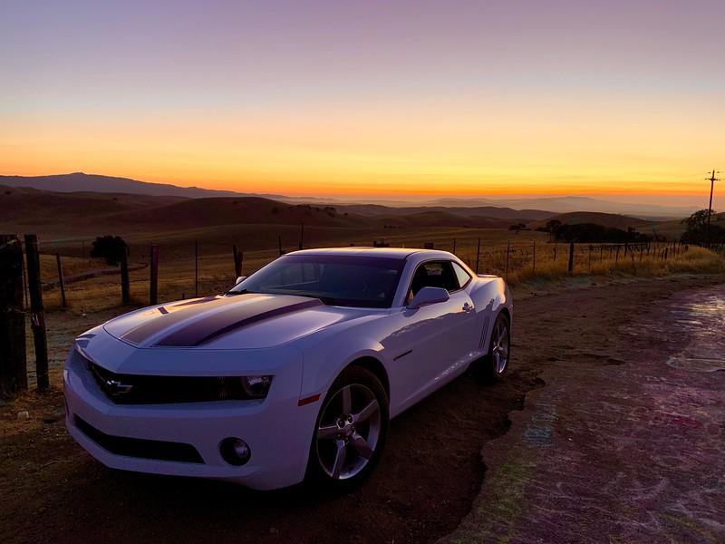 California Camaro Sunset