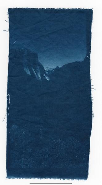 El Capitan (Cyanotype)