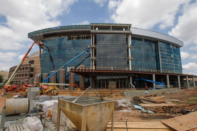 Upgrades to the Chesapeak Arena's west side.
