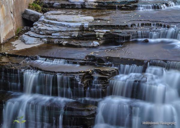 Flowing water - Silk