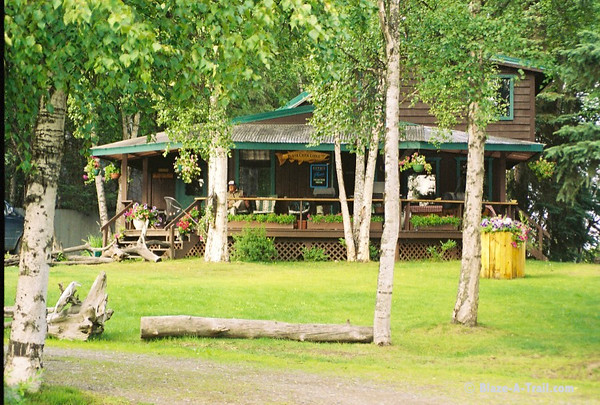 "Captain Blighs ""Beaver Creek Lodge"" on the Kenai River"