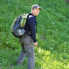 Justin in an alpine meadow