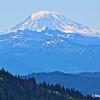 Mt. Adams volcano.  View from Naches Peak, Mt. Rainier NP.