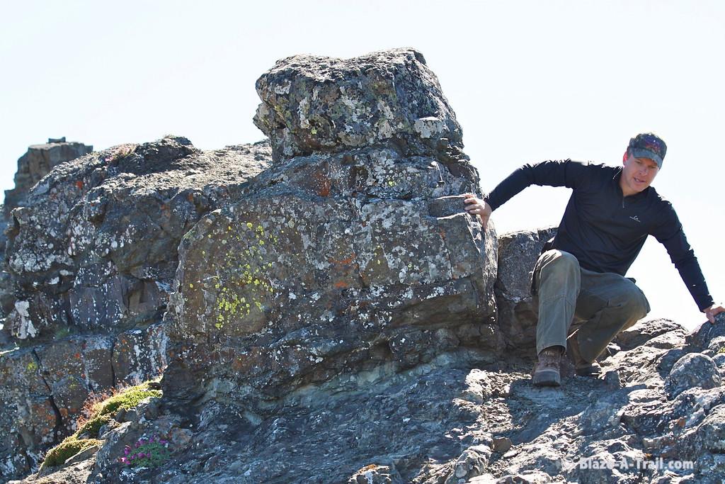Descending Naches Peak - Mt. Rainier NP