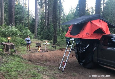 Remote Camping Just Outside Yosemite National Park