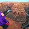 "Sunrise at Horseshoe Bend, Page AZ   For more information, visit my blog:  <a href=""http://blaze-a-trail.blogspot.com/2016/04/horseshoe-bend-page-az-memorable-sunrise.html"">http://blaze-a-trail.blogspot.com/2016/04/horseshoe-bend-page-az-memorable-sunrise.html</a>"