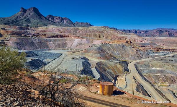 Asarco's Ray Mine in Kearny, AZ