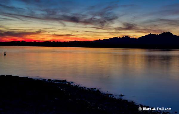Lake Havasu at Dusk