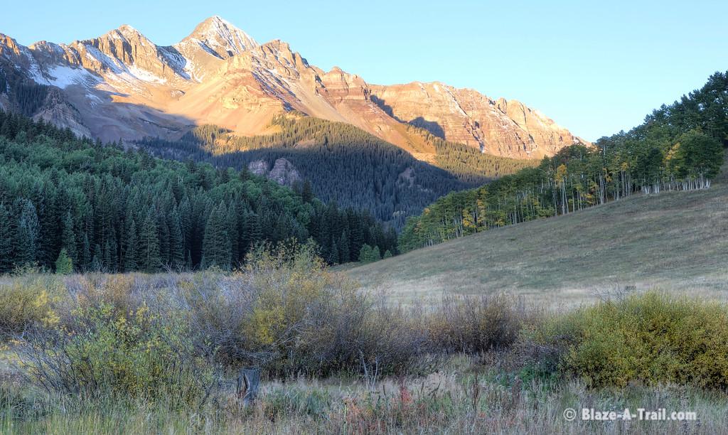 Mt. Wilson at Sunrise (Telluride, Colorado) September 2011