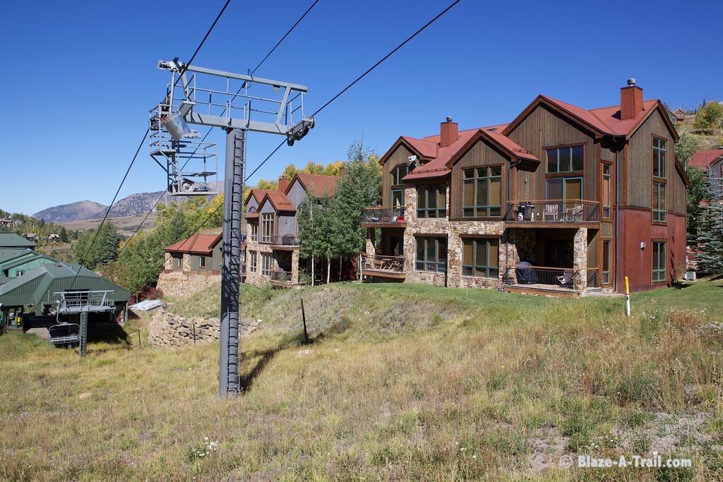 Mountain Village Condo and ski lift (Telluride, Colorado) September 2011