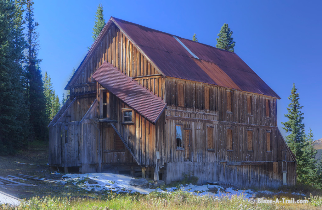 Barn along Alta Lakes Road (Telluride, Colorado) September 2011