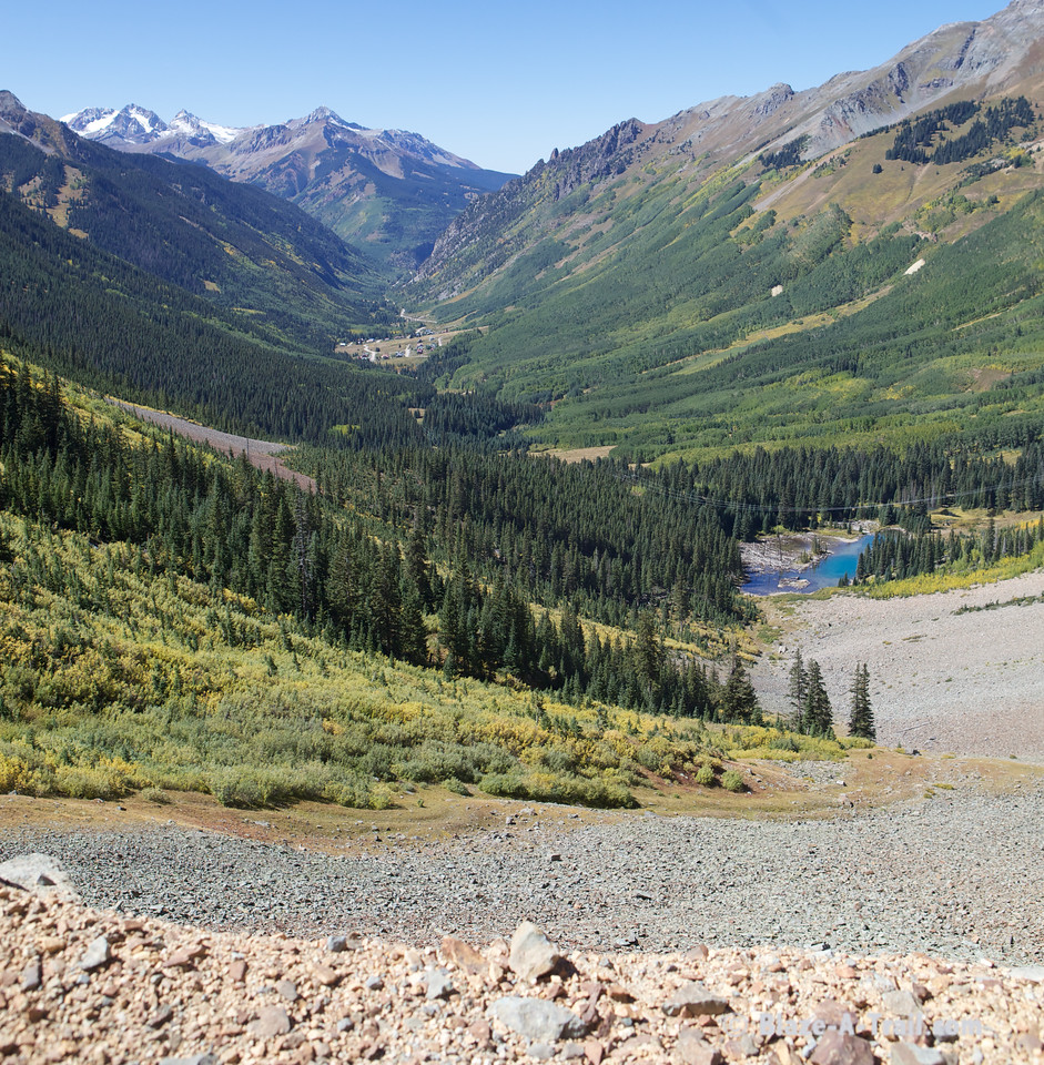 The Drive to Ophir Pass (Telluride, Colorado) September 2011