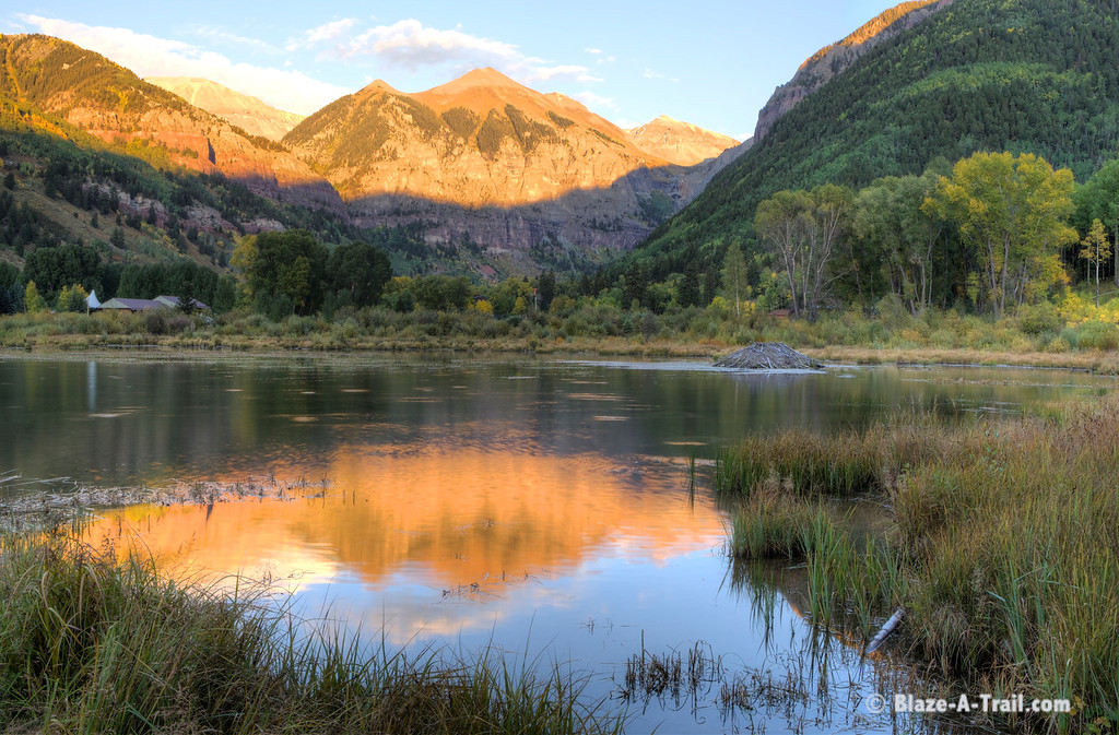 Beaver Pond at Sunset (Telluride, Colorado) September 2011