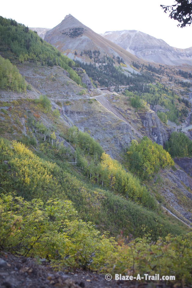 The Road to Tomboy Mining Camp (Telluride, Colorado)<br /> September 2011
