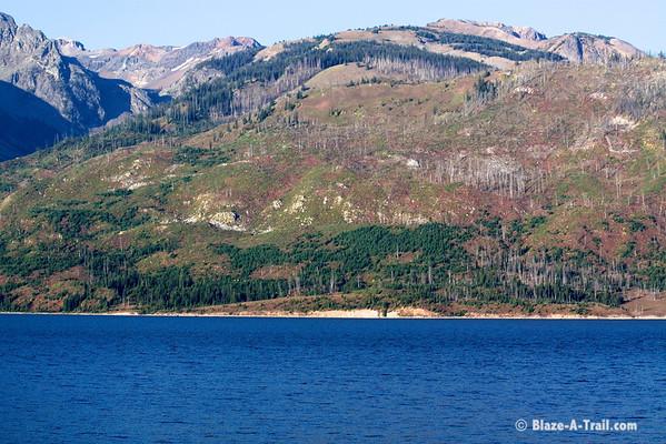 Jackson Lake, Grand Teton National Park<br /> September 2009