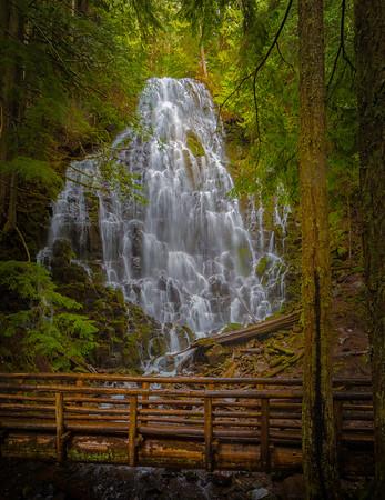 Ramona Falls, Rhododendron Oregon
