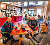 ACA - Cyclists in Gathering Grounds Coffeehouse, Patagonia, AZ - D3-C2-0028 - 72 ppi