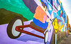 Mural on downtown wall in Conway, Arkansas; High Country Central Loop - _1C30131-Edit - 72 ppi