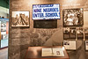 Displays inside visitor center of Little Rock Central High School National Historic Site, Arkansas - _1C30074 - 72 ppi