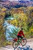 Biker high above Buffalo River north of Jasper-_W7A0050-Edit - C1 - 72 ppi