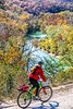 Biker high above Buffalo River north of Jasper-_W7A0045-Edit - C1 - 72 ppi