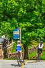 Biker(s) on Razorback Regional Greenway in Bentonville, Arkansas - _D5A0578-Edit - 72 ppi
