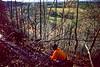 Mountain biker on Womble Trail in Arkansas' Ouachita Mountains - 14 - 72 ppi