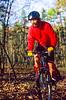 Mountain biker on Womble Trail in Arkansas' Ouachita Mountains - 4 - 72 ppi