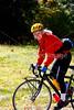 Cyclist at Soco Gap on south end of Blue Ridge Parkway, North Carolina, at US 19 intersection-0201 - 72 dpi