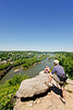Hikers on Maryland Heights in Harpers Ferry NHP in Maryland & West Virginia-D3C2--0184 - 72 ppi