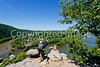 Hikers on Maryland Heights in Harpers Ferry NHP in Maryland & West Virginia-D3C2--0201 - 72 ppi