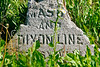 Mason-Dixon Line markers along Lee's retreat route from Gettysburg, PA-D2C1--0155 - 72 ppi