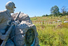 Cyclist at Gettysburg National Military Park, Pennsylvania-M3-0651 - 72 ppi