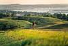 Lewis & Clark - Cyclist near Chamberlain, South Dakota, on Missouri River - 4-Edit - 72 ppi