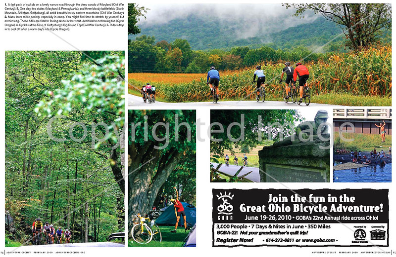 Adventure Cyclist - Event Rides Photo Essay - <br /> Pages 5 & 6