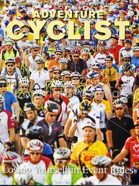 Adventure Cyclist - Event Rides Photo Essay - Cover