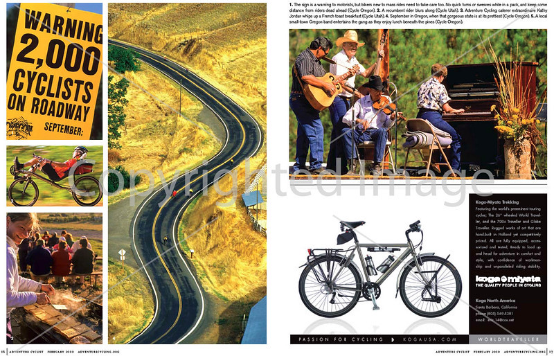 Adventure Cyclist - Event Rides Photo Essay - <br /> Pages 7 & 8