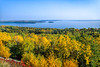 Lake Superior viewed from US 61 near Grand Portage Nat'l Monument - 1 - 72 ppi