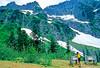 Cyclist in Washington state's North Cascades National Park - B wa cascades 12 - 72 dpi