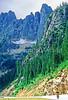 Cyclist in Washington state's North Cascades National Park - B wa cascades 1 - 72 dpi