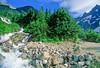 Cyclist in Washington state's North Cascades National Park - B wa cascades 10 - 72 dpi