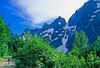 Cyclist in Washington state's North Cascades National Park - B wa cascades 16 - 72 dpi