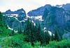 Cyclist in Washington state's North Cascades National Park - B wa cascades 8 - 72 dpi